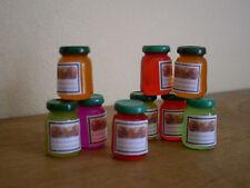 Miniature Food ~ JAM JARS  ~ Pack of 2
