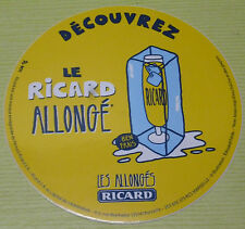 COLLECTOR , SOUS VERRE RICARD , LE RICARD ALLONGE , OR 575 *