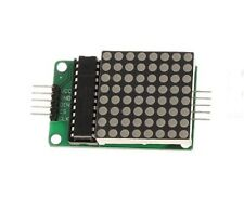 MAX7219 Red 8x8 LED Dot Matrix Display Module for Arduino 5-dupont line CHIP 23