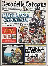 L' ECO DELLA CAROGNA  n. 3  1996 angese vincino maramotti sferra giuliano staino