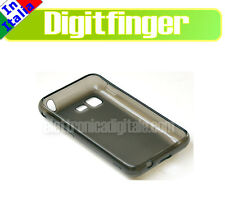 SAMSUNG S5220  S5222 Star 3 III CUSTODIA Guscio Cover in TPU Gel GRIGIA