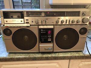 Aiwa CS-770K | Vintage Portable Boombox Ghetto Blaster Cassette Recorder & Radio