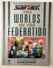Star Trek Worlds of the Federation Guide Shane Johnson Pocket Books 1989 a