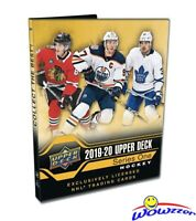 2019/20 UD Series 1 EXCLUSIVE Hockey Starter Kit-25 Cards, Ultra Pro Binder++