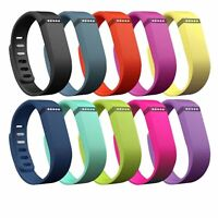 Replacement Silicone Watch Band Fitbit Flexible Bracelet Strap Activity Tracker