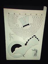 Francis Picaba: Program For Relache.  Dada Theater 35mm Art Slide