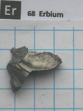 18.28 gram (0.64 Oz) 99.9% Erbium metal nugget - Pure element 68 sample
