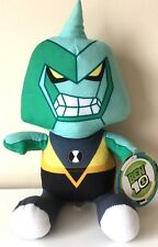 Ben 10 Cartoon Network Plush 12''. Licensed Toy. NWT.Diamondhead. Stuffed Animal