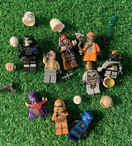 Lego Minifigures  Minifigs Figure Misc Sets Lot Of 9 Plus Accessories And Parts