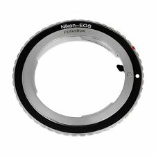 Fotodiox Lens Mount Adapter, Nikon Lens to Canon EOS Camera, New, Free Shipping