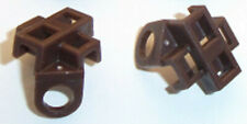 Lego Minifig Scabbard x 2 Dark Brown for Minifigures