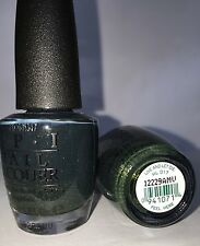Opi Nail Polish Lacquer Live And Let Die Hl D17 Green Shimmer