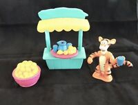Pooh LEMONADE with TIGGER Collectible Playset FIGURE~Play Pieces Complete Disney