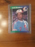 1989 Donruss Montreal Expos Baseball Card #220 Hubie Brooks