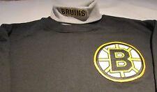 Boston Bruins Turtle Neck Sweatshirt Medium  Majestic NHL Hockey 50/50 Cotton
