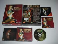 TOMB RAIDER II 2 Pc Cd Rom Lara Croft Original BIG BOX - Fast, secure Post