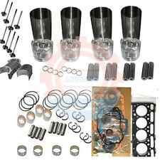 Rebuild Kit For Kubota Engine V1902 V1902BH Excavator Loader Tractor