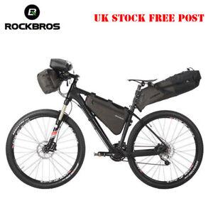 RockBros Bicycle Cycling Waterproof Handlebar Frame Saddle Bag Bike Combined Bag