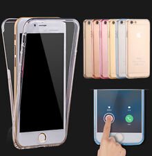 360° Shockproof Protective Full Clear Case Cover For Apple iPhone 8 6 6S 7 plus
