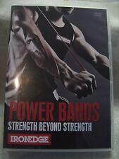 """NEW"" WEIGHT TRAINING DVD ""POWER BANDS - STRENGTH BEYOND STRENGTH"""
