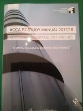 isn't P2 hard copy study manual 2017/18