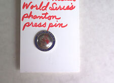 1964 PHILADELPHIA PHILLIES WORLD SERIES PHANTOM PRESS PIN RARE LOOKS EX-MINT