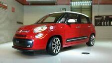 Modellini statici di auto, furgoni e camion rosso WELLY per Fiat