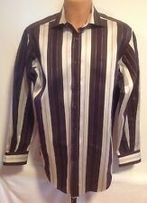 Etro Milano Dress Shirt, Spread Collar, Made in Italy, Size 42 (Large/16.5)