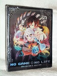 No Game No Life The Collectors Edition (Blu-ray, 2014, 3-Disc STEELBOOK) anime