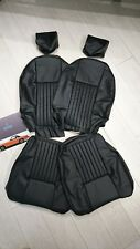 Jensen Healey Black Leather Seat Cover Kit