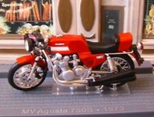 MOTO BIKE MV AGUSTA 750S AMERICA 1973 IXO 1/24 2 ROUES ROUGE RED ROSSO