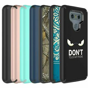 For LG G6 Case,  Dual Layer Shockproof Bumper Case