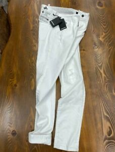 Dsquared2 Mens Cool Guy Distressed White Jeans, New With Tags