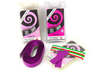 Ambrosio handlebar tape Lavender Pastel purple vintage Bicycle NOS 3 packs
