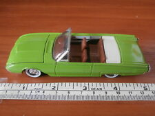 SOLIDO 1961 FORD THUNDERBIRD CONVERTIBLE WITH OPENING BONNET (GREEN) 1:43 SCALE