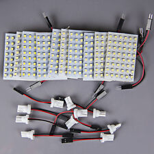 10x Super Bright Xenon White T10 921 194 LED 48SMD Panel Interior Dome Map Light