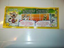 KINDER mouse Doctors - cartina bpz  N°1