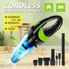 Strong Power Car Portable Vacuum Cleaner DC 12V 120W Cordless Wet&Dry Dual Use