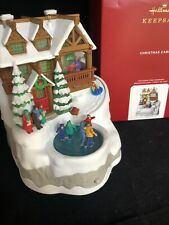 Christmas Cabin 2020 Hallmark Musical Ornament With Light MIB