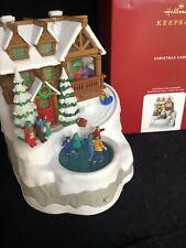 Christmas Cabin 2020 Hallmark Musical Ornament With Light Free shipping Mib