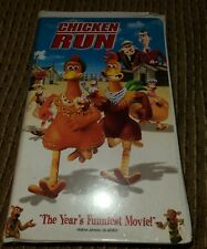 Chicken Run (Vhs, 2000) Clamshell New Free Shipping