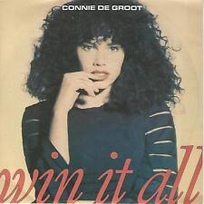 "CONNIE DE GROOT "" WIN IT ALL "" 7"" EX"