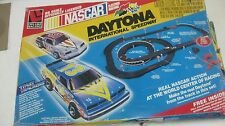 Rare Nascar Daytona International Speedway Slot Car Set HO Scale By Tyco  tr126c