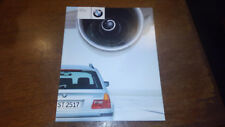 2000 BMW 323i Sport Wagon Brochure E46 New Old Stock