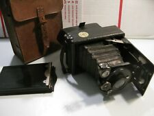 Antique Vintage Contessa Nettel Suevia Folding Plate Camera 1920's