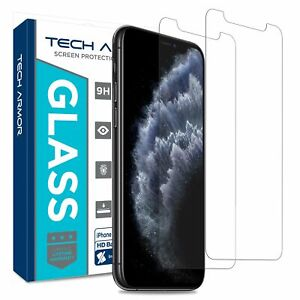 Tech Armor Ballistic Glass Screen Protector for Apple iPhone X / XS [2-Pack]