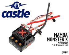 CASTLE CREATIONS MAMBA MONSTER X Waterproof 1:8 Brushless ESC CSE010014500