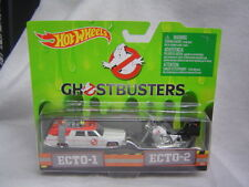 Hot Wheels Ghostbusters ECTO-1 & ECTO-2 Motorcycle 2 ship WW
