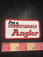 I'm A Pennsylvania Angler Patch - Fish Fisherman Patch C94R