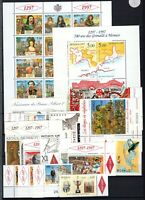 A131776/ MONACO STAMPS / LOT YEAR 1996 - 1997 MINT MNH – CV 260 $